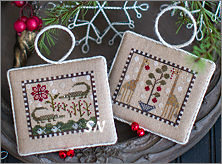 Plum Street Samplers Noah's Christmas Ark I Alligators and Giraffes - click for more