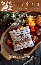 SAMPLER LESSON FOUR from Plum Street Samplers