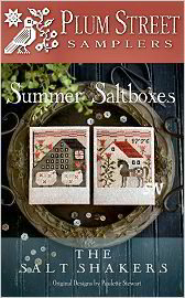 Summer Saltboxes from Plum Street Samplers