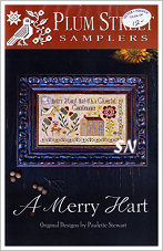 A Merry Hart from Plum Street Samplers