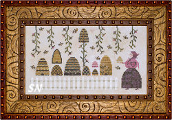 Plum Street Samplers Babushka's Bees - click for more