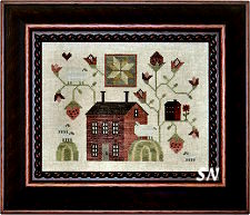 Berry Cottage from Plum Street Samplers
