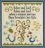 Fishes and Bait from Plum Street Samplers - click for more