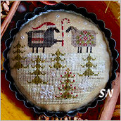 Merry Ewe from Plum Street Samplers