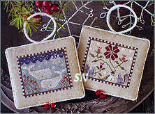 Plum Street Samplers Noah's Christmas Ark III Whales and Squirrels - click for more