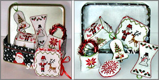 La Petit Etui Noel from Praiseworthy Stitches - click for more
