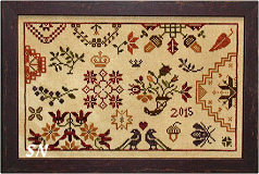 Autumn Quaker from Praiseworthy Stitches - click for more