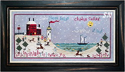 Winter at Beacon House from Praiseworthy Stitches - click for more