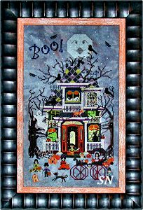 Blue Moon Manor from Praiseworthy Stitches - click for more