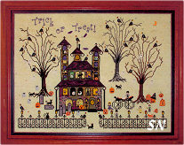 Buzzard's Roost Inn from Praiseworthy Stitches - click for more
