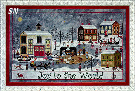 A Churchyard Christmas from Praiseworthy Stitches - click for more
