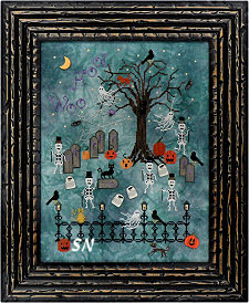 Dancing in the Moonlight from Praiseworthy Stitches - click for more
