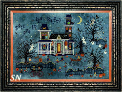 Darkwing Manor from Praiseworthy Stitches - click for more