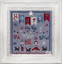 Hooray for the Red, White & Blue from Praiseworthy Stitches - click for more