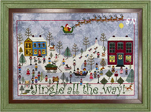 Jingle all The Way! from Praiseworthy Stitches - click for more