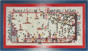 Memorial Park from Praiseworthy Stitches - click for more