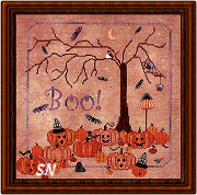 Midnight Fright from Praiseworthy Stitches - click for more
