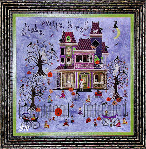 Mr Bones' Starlight Ballroom from Praiseworthy Stitches - click for more