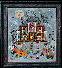 Mummy's Moonlight Cafe from Praiseworthy Stitches - click for more