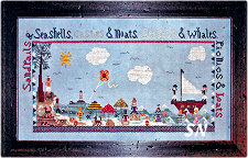 Sandcastle Bay from Praiseworthy Stitches - click for more