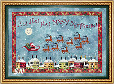 Santas Midnight Flight from Praiseworthy Stitches - click for more