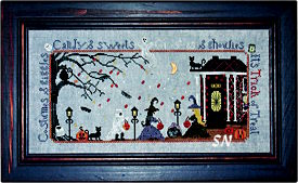 Hooray for the Trick or Treat from Praiseworthy Stitches - click for more