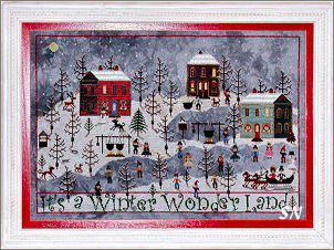Winter at Sugar Hill from Praiseworthy Stitches - click for more