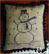 Stoneware Snowman from Priscilla's Pocket