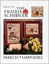 #146 March Daffodils Reprint from  Prairie Schooler -- click to see more
