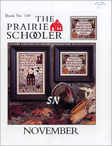 #149 November Reprint from  Prairie Schooler -- click to see more