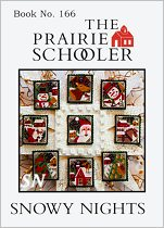 #166 Snowy Nights Reprint from Prairie Schooler -- click to see more