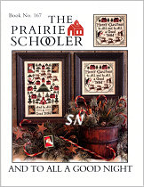 #167 To All A Good Night Reprint from  Prairie Schooler -- click to see more