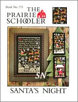 #175 Santa's Night Reprint from Prairie Schooler -- click to see more