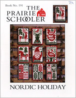 Prairie Schooler's #191 Nordic Holiday Leaflet -- click to see more