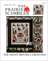 Prairie Schooler's #199 The Night Before Christmas -- click to see more