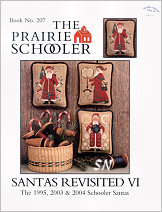 #207 Santas Revisited VI Reprint from  Prairie Schooler -- click to see more