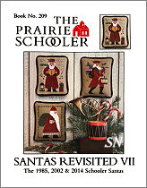 #209 Santas Revisited VII Reprint from  Prairie Schooler -- click to see more