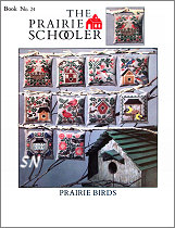 Prairie Schooler's Book #24 - Prairie Birds -- click to see more