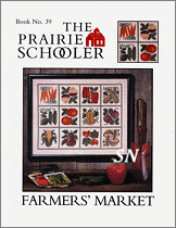 #39 Farmer's Market Reprint from  Prairie Schooler -- click to see more