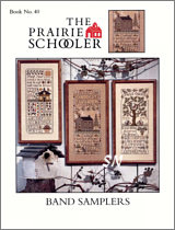 Prairie Schooler's Book #40 Band Samplers - click to see more
