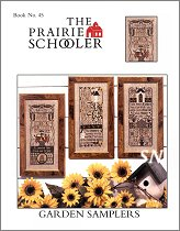 #45 Garden Samplers Reprint from Prairie Schooler -- click to see more