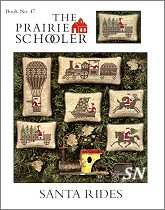 #47 Santa Rides Reprint from Prairie Schooler -- click to see more
