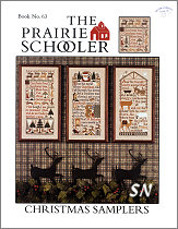 #63 Christmas Samplers reprint from  Prairie Schooler -- click to see more
