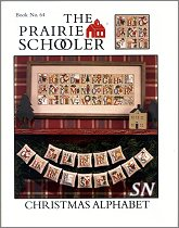#64 Christmas Alphabet Reprint from Prairie Schooler -- click to see more