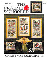 #73 Christmas Samplers II reprint from  Prairie Schooler -- click to see more