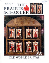 80 Old World Santas Reprint from  Prairie Schooler -- click to see more
