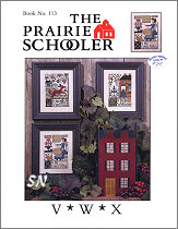 Prairie Schooler's Book #113 - V*W*X -- click to see more