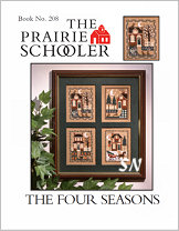 #208 The Four Seasons from  Prairie Schooler -- click to see more