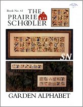 #61 Garden Alphabet from Prairie Schooler -- click to see more