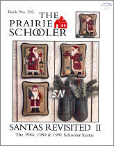 Prairie Schooler's Santas Revisited II - click to see more